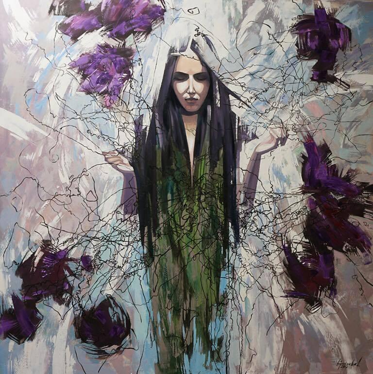 Персональна виставка сучасного живопису Анастасії Крайнєва «Об'єм кольору»