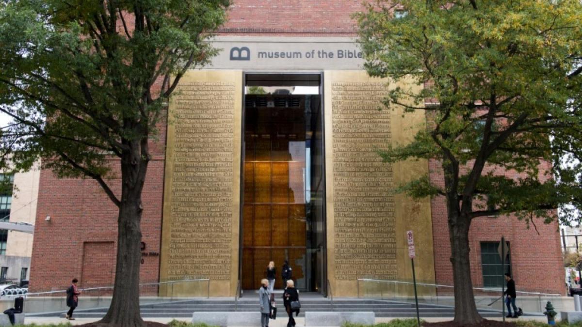 Новый Музей Библии все больше удивляет общественность