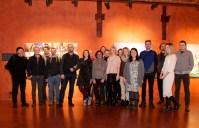 гості та організатори відкриття виставки резиденції BIRUCHIY у ЛЬВІВАРНІ