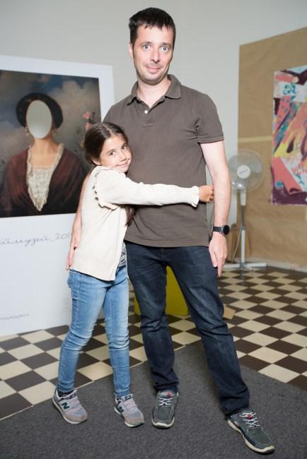 Арсеній Фінберг з дочкою