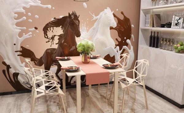 Актуальный дизайн стен кухни фотообоями | Свежие новости в ...