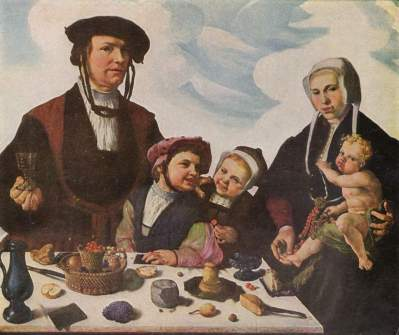 Marten van Heemskerck: His own Famiily