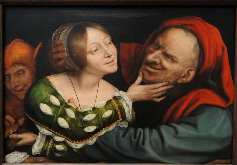 Matched Lovers by Quentin Matsys