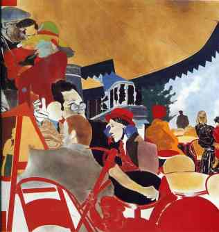 The Autumn of Central Paris by R. B. Kitaj