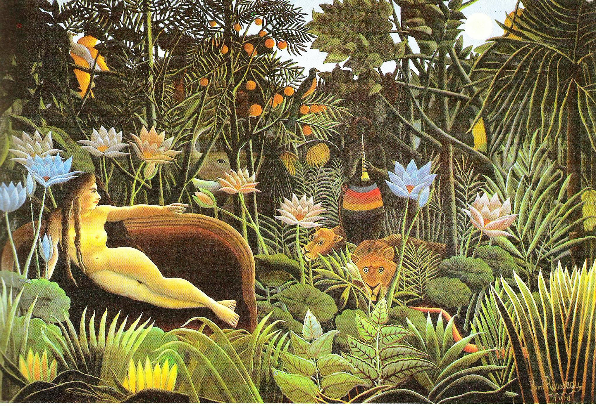 Images Of Rousseau Paintings