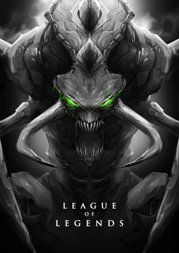ChoGath League Of Legends Fan Art 2 League Of Legends Fan