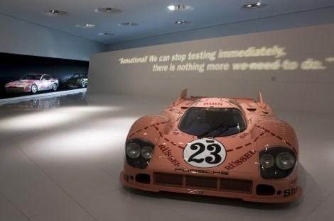 Interno Museo Porsche