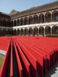 Milano-Cortile Farmacia Universita d egli Studi-Daniel Libeskind-Oikos