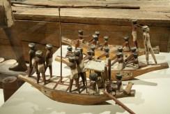 Modello di imbarcazione.Primo Periodo Intermedio, Medio Regno, XI-XII dinastia