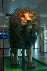 Un'opera dedicata al simbolo di Lione nella stazione