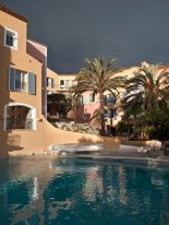 Scorcio sulle camere di Byblos dalla piscina