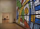 La collezione permanente, vetrata