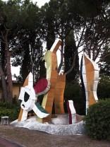Le Jardin d'enfants, terracotta smaltata realizzata da Roland et Claude Brice