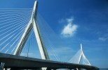 Boston, Bunker Hill Memorial Bridge di Leonard P. Zakim