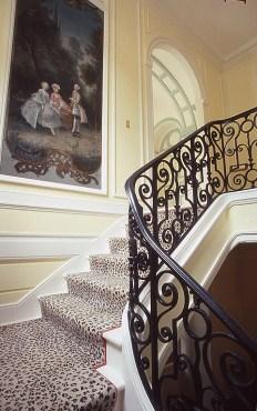 Le scale restaurate da Libby Cameron
