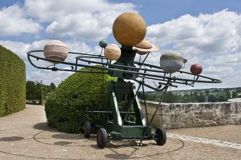 Studio dimostrativo dei Pianeti di Leonardo nel Parco Reale