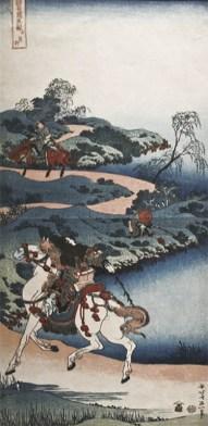 Hokusai, Il rientro di un giovane uomo