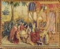 """""""Gli Astronomi"""", arazzo lana e seta. Manifattura di Beauvais. Museo di Mans"""