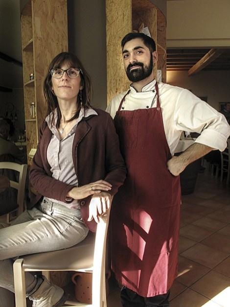 Roberta e lo chef Fabio di Pane, Amore... Poderia