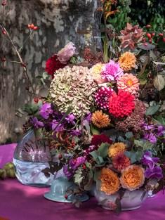 Composizione floreale autunnale