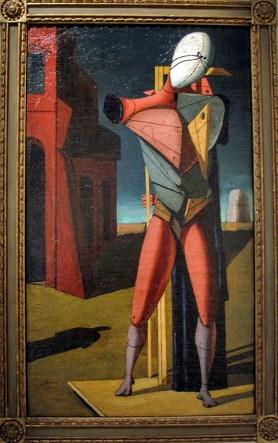 Giorgio De Chirico, Il Trovatore, 1917