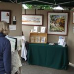 Elaine Frenett's booth