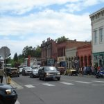 Jville looking cute with Britt flags and antique cars