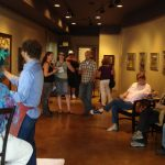 Gabriel's demo holds an audience in rapt attention - Elan Gallery