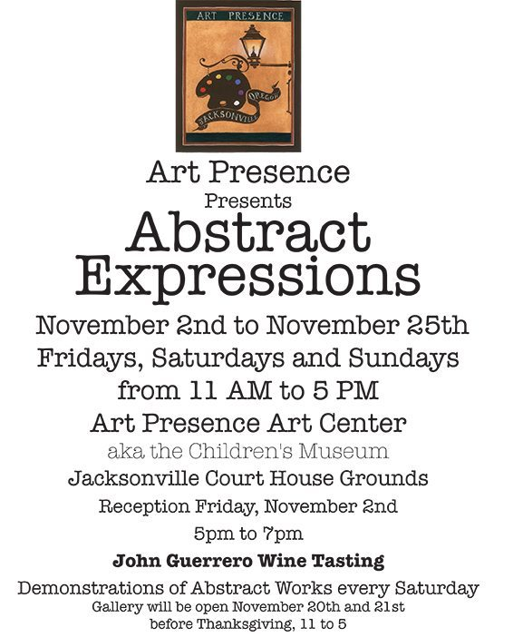 Abstract Expressions show November 2012