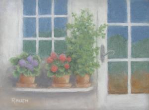 Ths beautiful pastel is by Ruth Heath, a member of Art Presence, come and see her work during the month of April