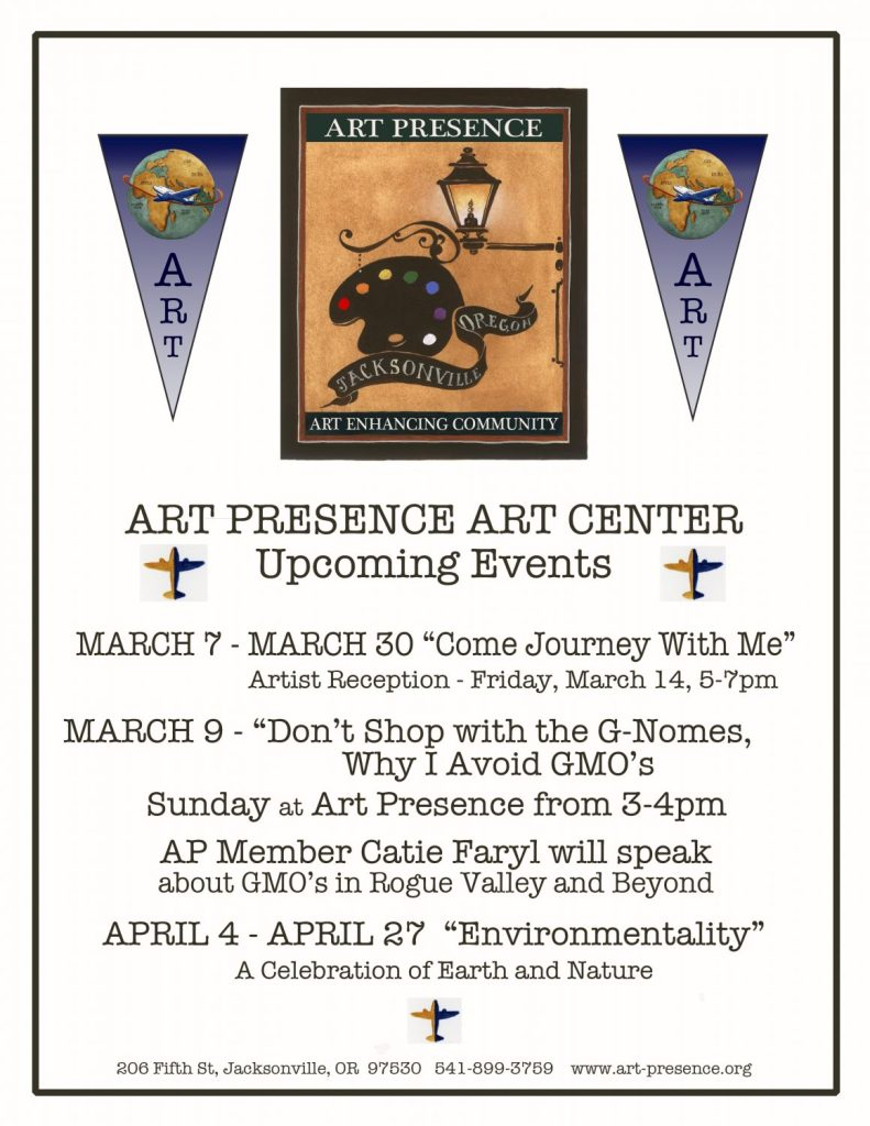 ARt Presence March 2014 Events