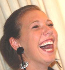 """""""Fandango"""" earrings by Julie Hoskins"""