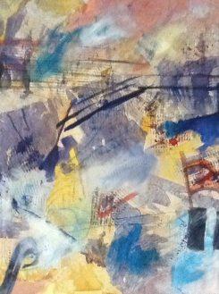 """""""Jazzz"""" Tryptych by Linda Curtis (#2)"""