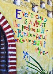 Graffiti Vortex II, Image by Alice LaMoree