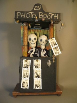 """""""Day of the Dead Photo Booth"""" by Leona Keene Sewitsky"""