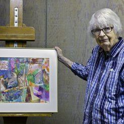 Elaine Witteveen, jacksonville, oregon artist and founder of the Artists Workshop