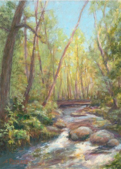 Lithia Creek, by Carolyn Roberts