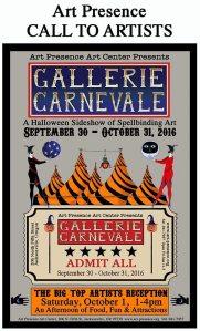 Gallerie Carnevale Invitational Show @ Art Presence Art Center | Jacksonville | Oregon | United States