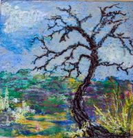 New Beginnings: Tree's End, pastel by Judy Ommen