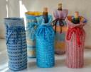 Art'Clectic Garden Party group exhibition: Carol Laenen Hand woven pieces