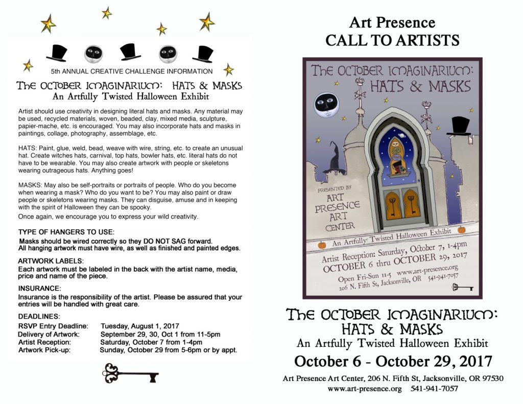 October Imaginarium Call to Artists