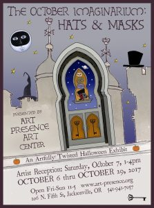 The October Imaginarium: Hats & Masks Reception @ Art Presence Art Center