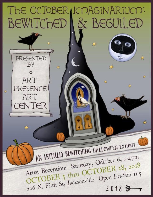 2018 October Imaginarium Poster: 2018 October Imaginarium Opening Day! Reception tomorrow!