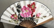 Painted fan - Alexey Huanchong