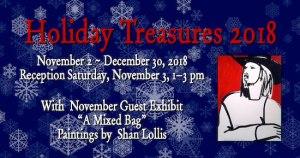 Holiday Treasures 2018 @ Art Presence Art Center   Jacksonville   Oregon   United States