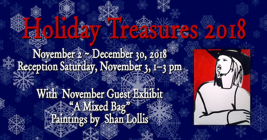 November 2018 Holiday Treasures Show