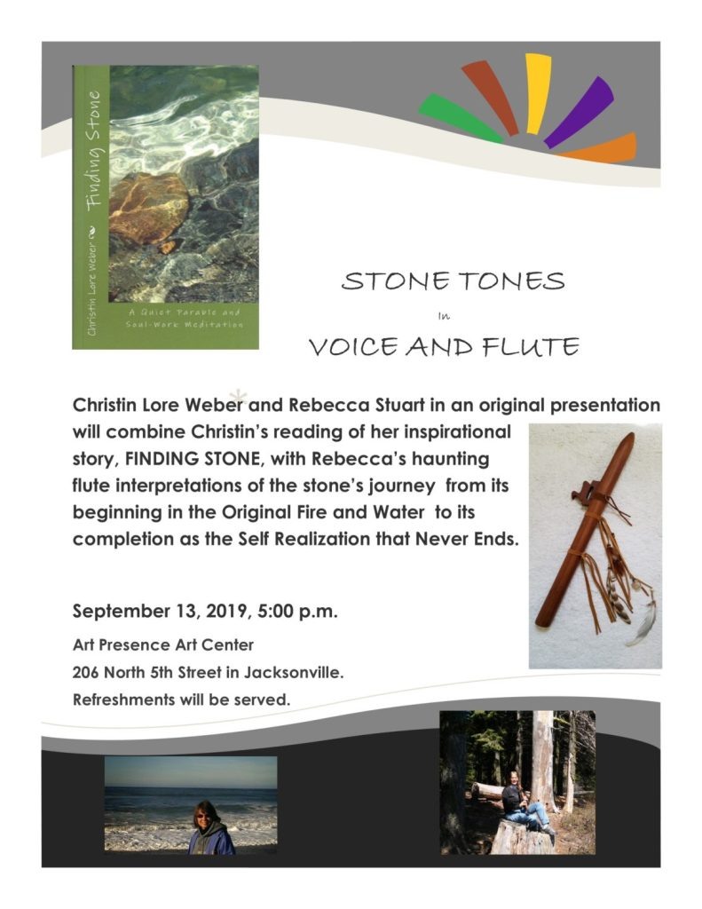 Stone Tones in Voice and Flute wth christin Lore Weber and Rebecca Stuart