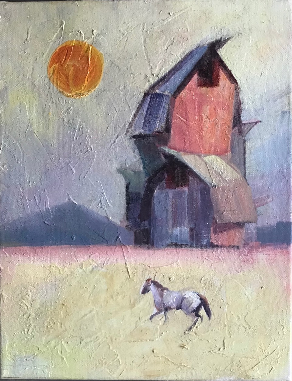 The Horse, painting by Desmond Serratore