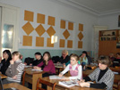 Студенты педучилища
