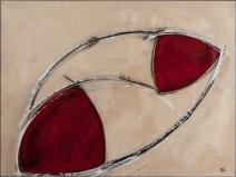 aus dem gleichgewicht gebracht, acryl auf leinen, 60x80cm, 2012